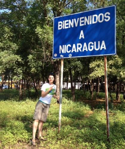 De Honduras a Nicarágua (cruzando a fronteira)