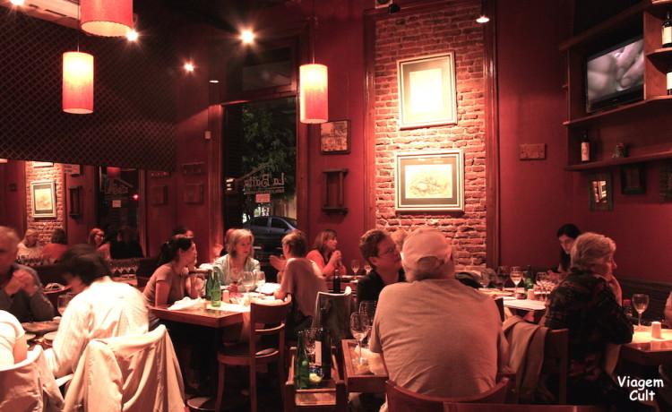 La Baita, um autêntico restaurante italiano